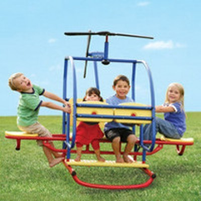to this problem is backyard helitotter which will make your kids love