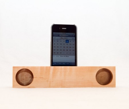 diy wood iphone speaker