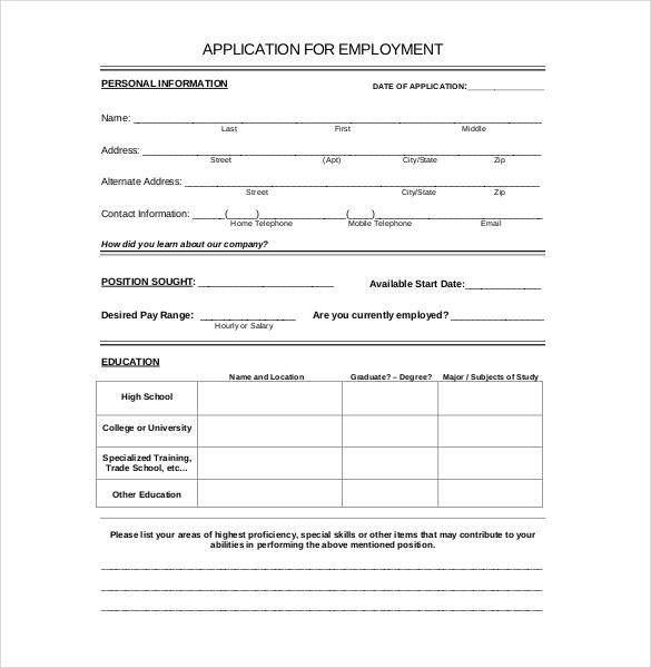 Applying For Job Technology Updates
